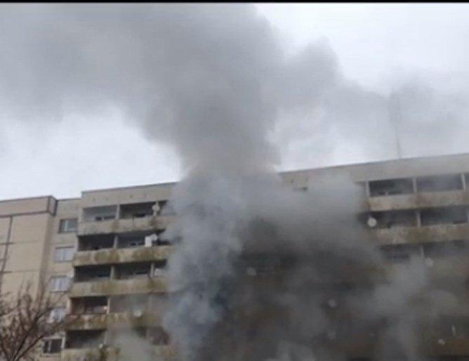 Пожар лумна в общежитие в Студентски град