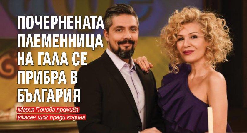 Почернената племенница на Гала се прибра в България