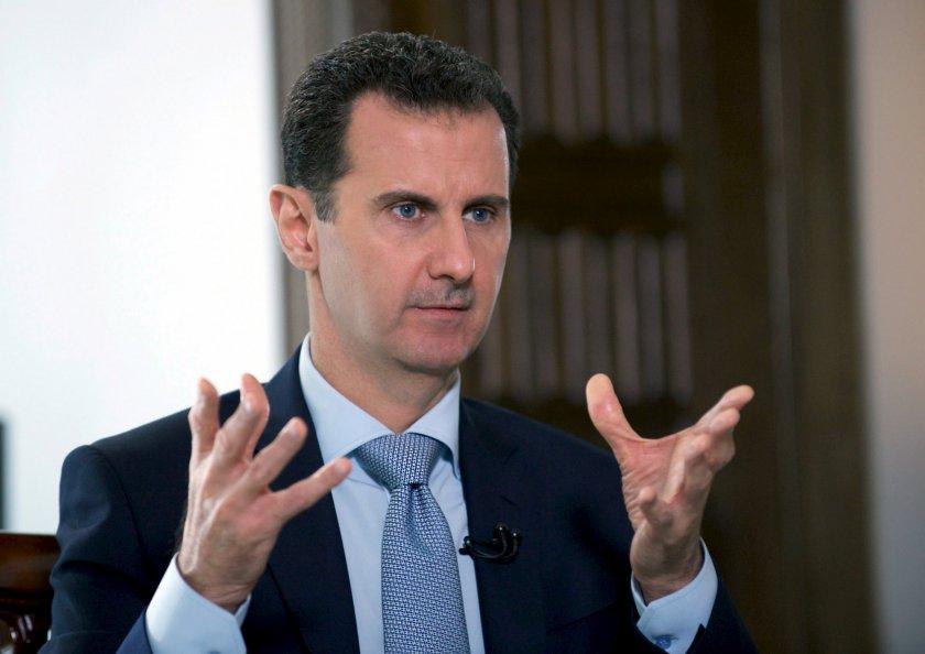 Асад: САЩ продават на Турция сирийски петрол