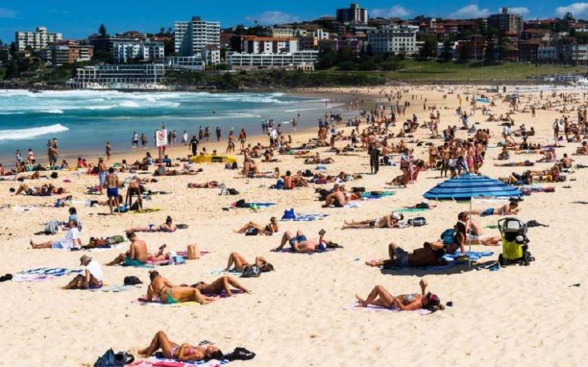 Жега! 40 градуса в Австралия