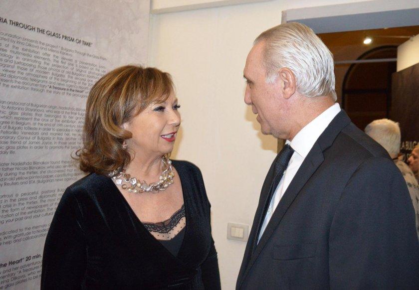 Стоичков аплодира Антонина Стоянова в Рим (СНИМКИ)