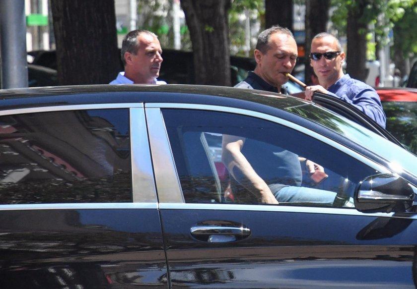 Мълчание на Герена след срещата на Васил Божков с феновете на Левски