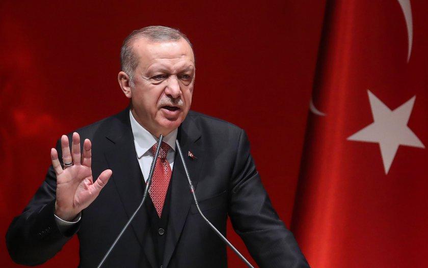 Ердоган призова: Европа да подкрепи действията на Турция в Либия