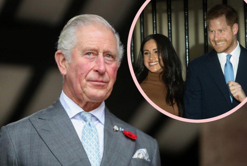 Принц Чарлз ще издържа Меган и Хари една година