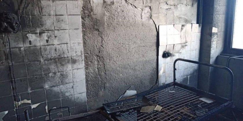Луд подпали болница в Пловдив