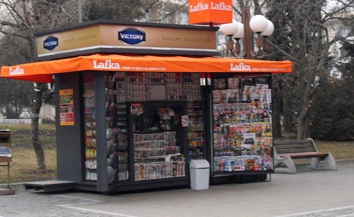 Будките на Lafka стават вестникарски репове