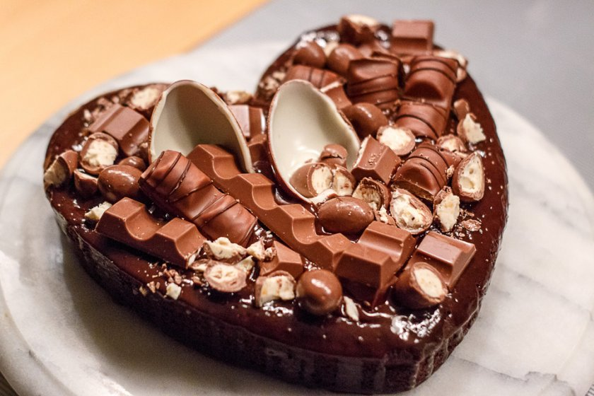 Шоколадова торта с малко брашно