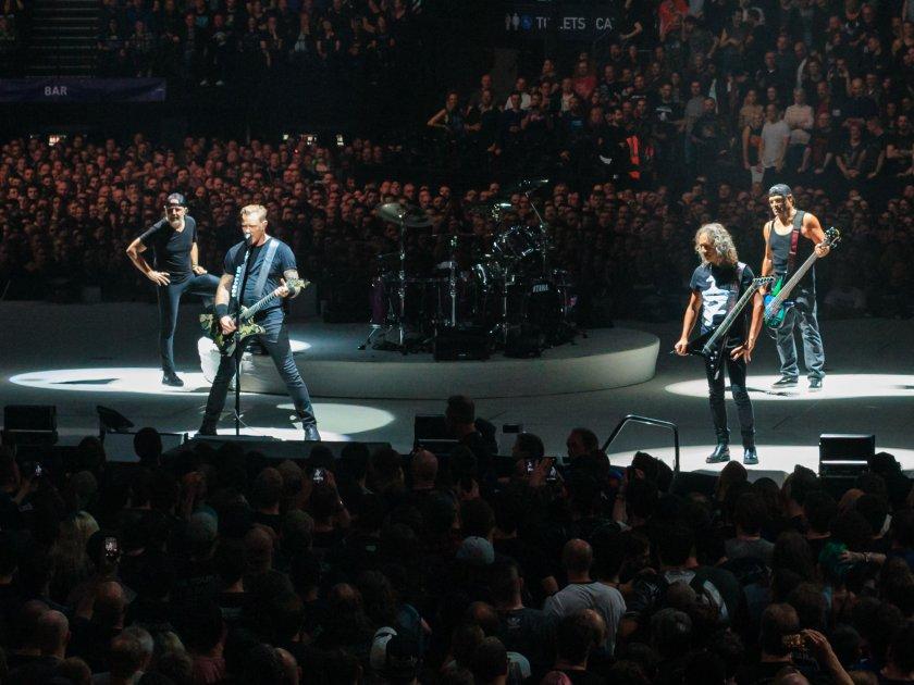 Metallica ще пускат записи на пълни концерти всеки понеделник