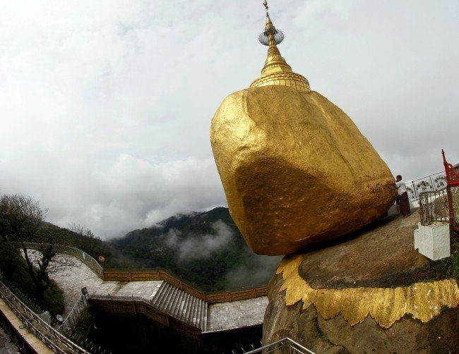 Кичур от Буда крепи златен камък
