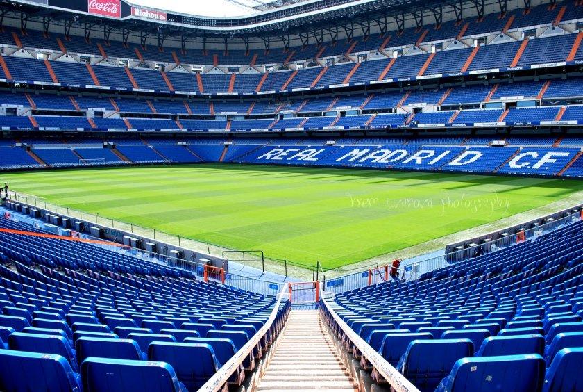 Стадионът на Реал Мадрид - център за санитарни консумативи