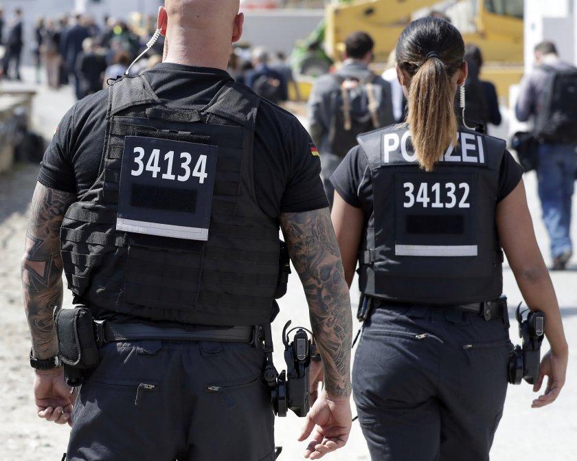 Тунизиец вилня с мачете в Аугсбург