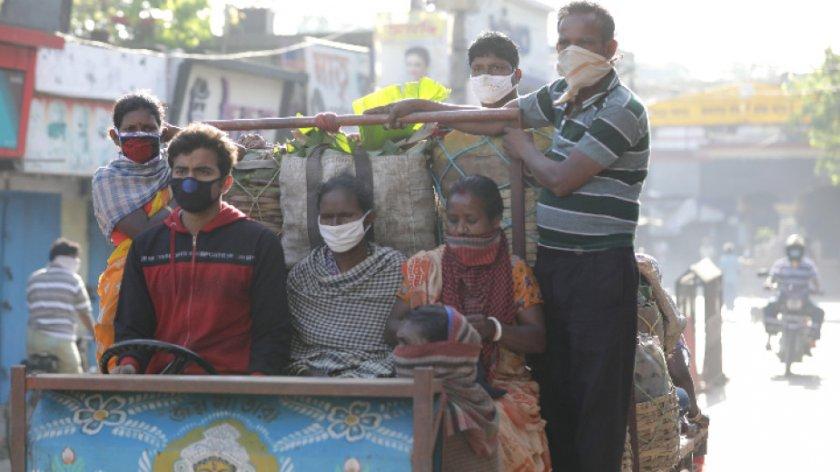 Сблъсъци в Индия след въвеждането на карантина