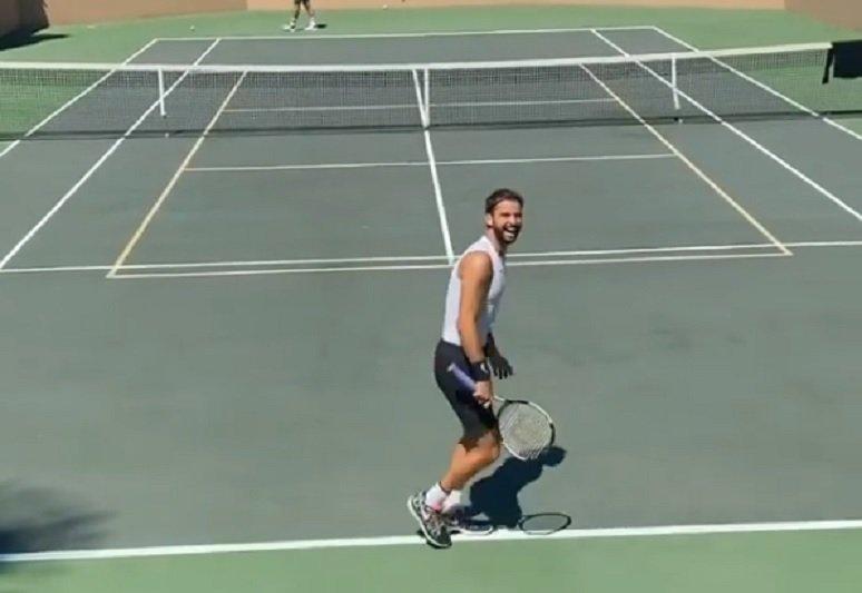САЩ: Не играйте тенис, опасно е! Гришо от Хасково – на корта (ВИДЕО)