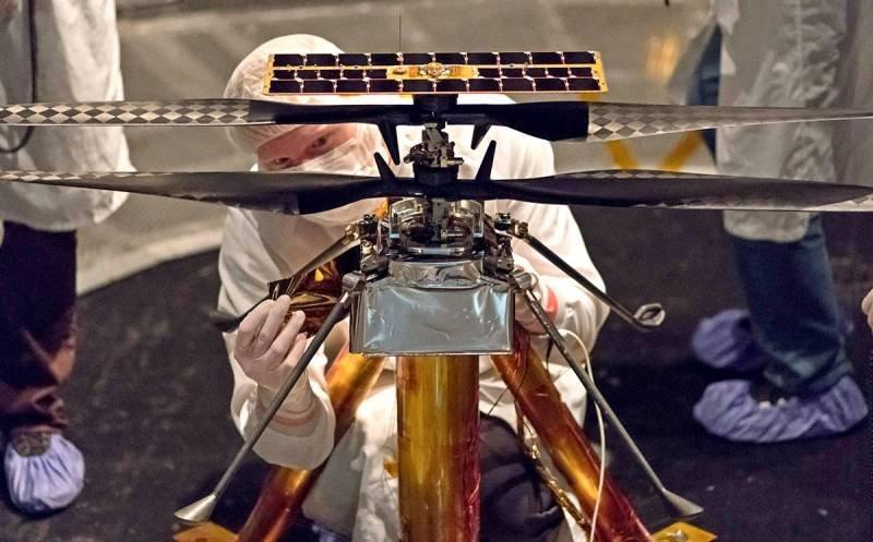 НАСА праща дрон на Марс