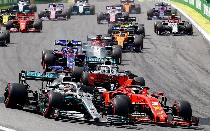 Босът на Формула 1 намали заплатата си