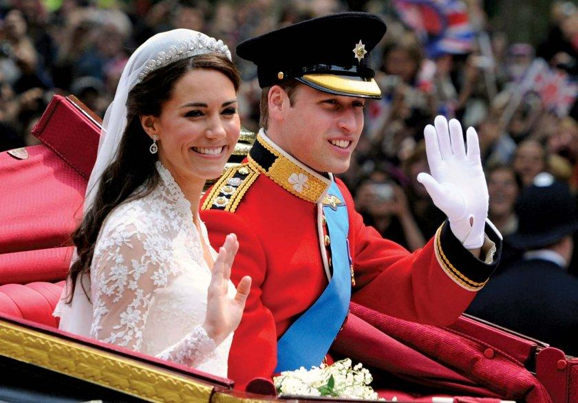 ЧЕСТИТО: Уилям и Кейт празнуват годишнина от сватбата
