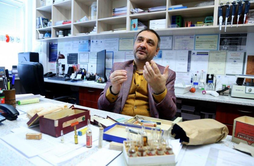 Доц. Чорбанов: Готови сме да сглобим прототипа на българската ваксина