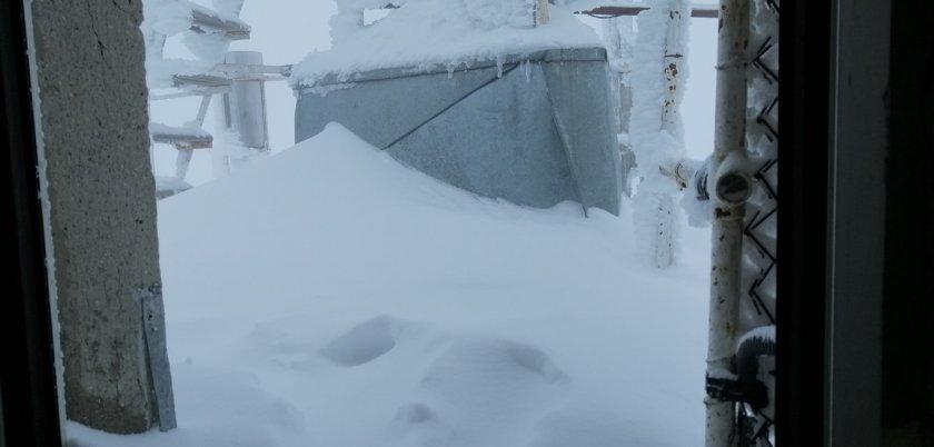Сняг затрупа Мусала