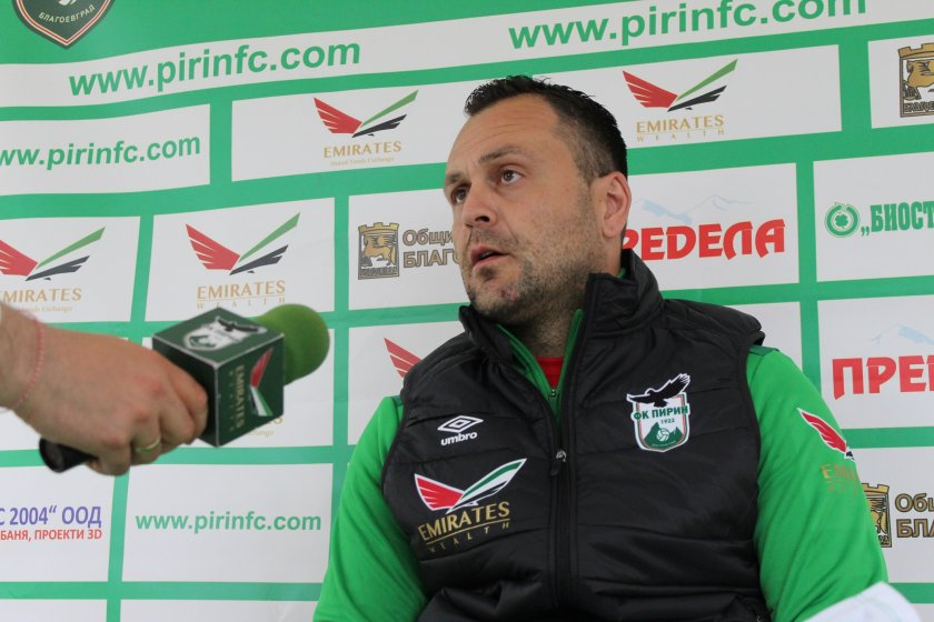Пирин взима треньор от Германия и Галчев