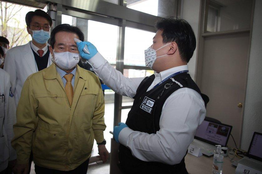 Южнокореец с 4 месеца затвор за нарушаване на карантината