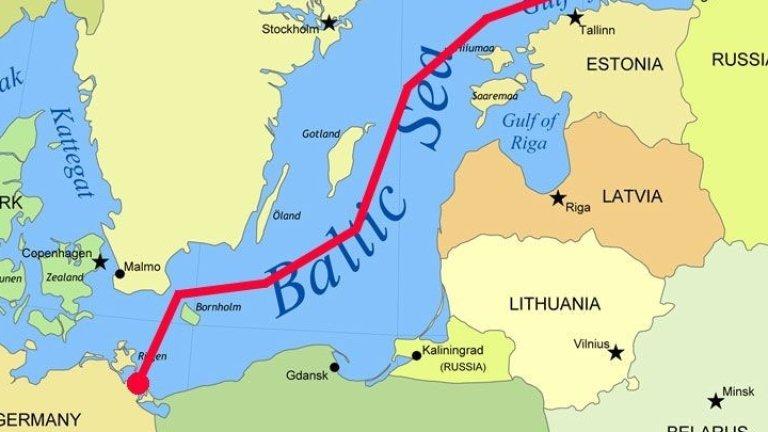 """Обявяват новите санкции срещу """"Северен поток-2"""""""