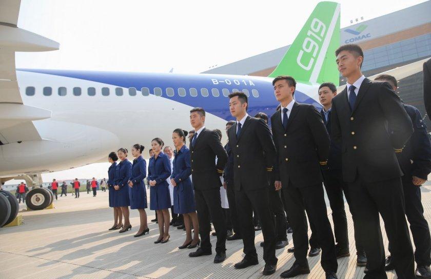 Вашингтон разреши на Китай два пътнически полета седмично