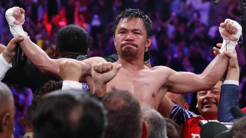 Боксьор се кандидатира за президент на Филипините