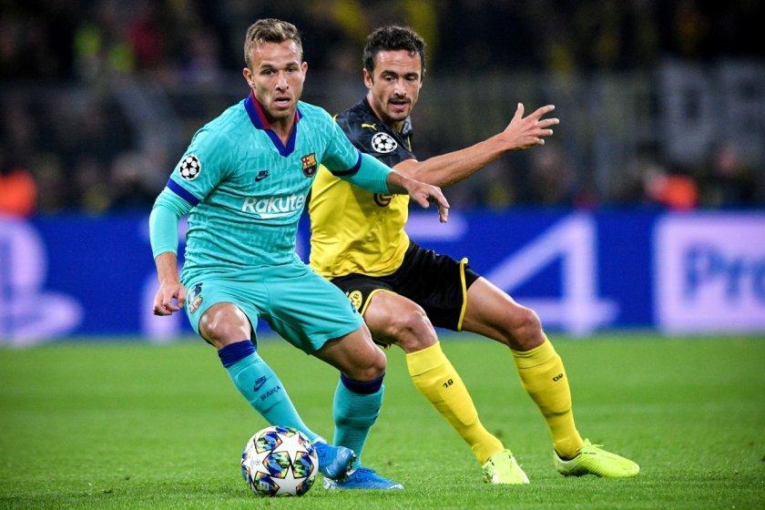 Артур премина официално в Ювентус за 72 млн. евро