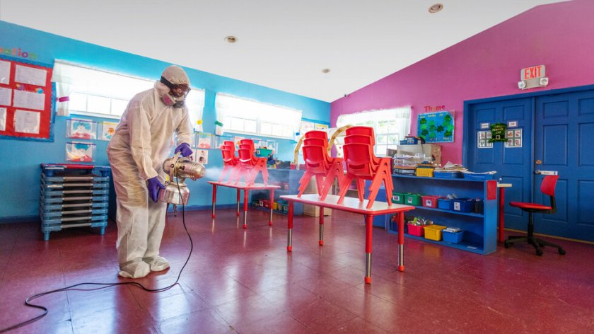 Отвориха детската градина в София с COVID-19