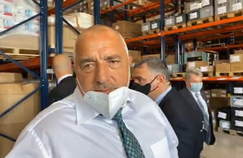 Борисов открива нова фабрика (НА ЖИВО)