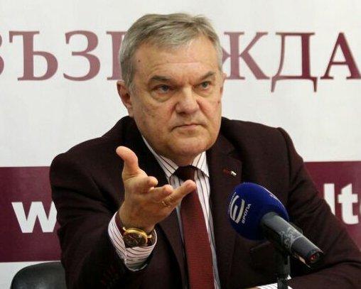 """Председателят на ПП """"АБВ"""" Румен Петков"""