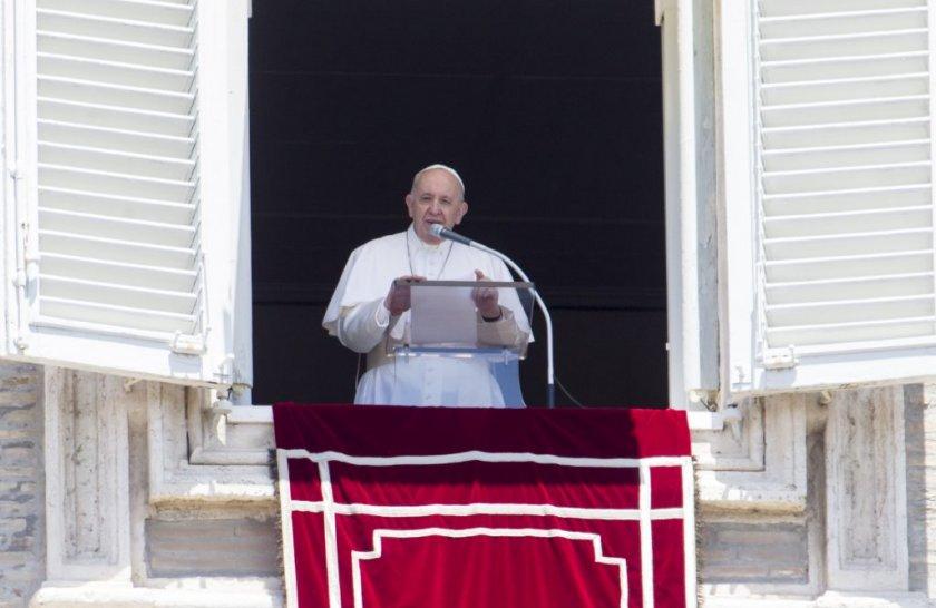 """Папата е огорчен от решението на Турция да превърне """"Света София"""" в джамия"""