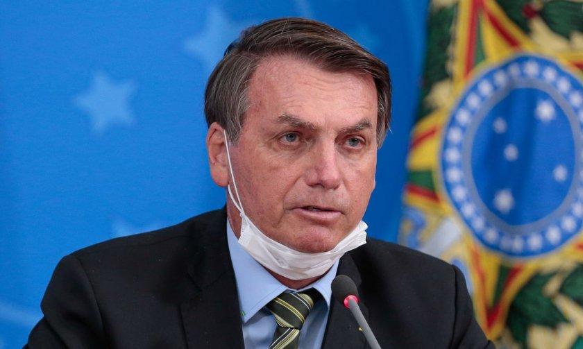 Бразилският президент положителен за коронавирус