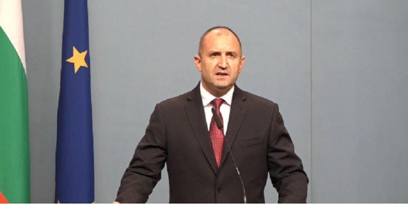 ИЗВЪНРЕДНО: Радев поиска оставките на Борисов и Гешев