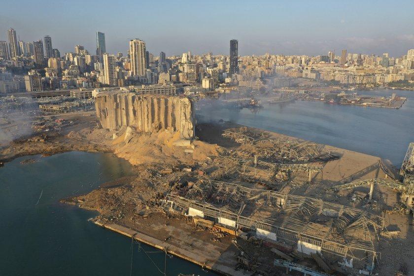 Външно: Няма пострадали българи при взрива в Бейрут