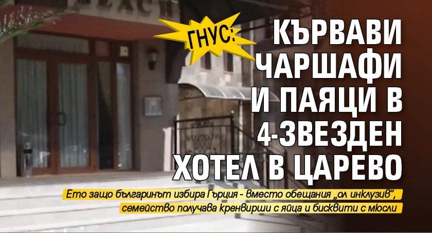 Гнус: Кървави чаршафи и паяци в 4-звезден хотел в Царево