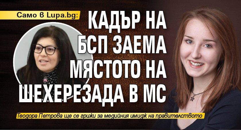 Само в Lupa.bg: Кадър на БСП заема мястото на Шехерезада в МС