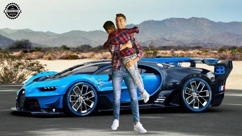 Роналдо си купи кола за 8 млн. евро