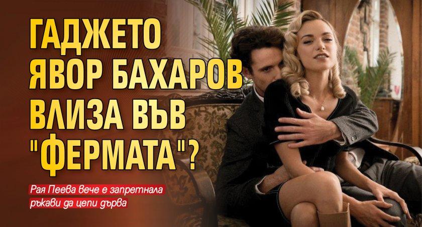 """Гаджето на Явор Бахаров влиза във """"Фермата""""?"""