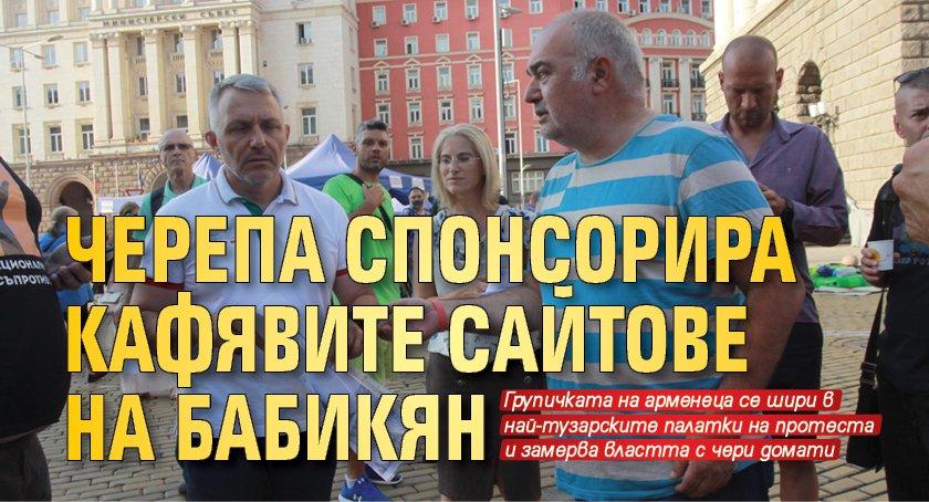 Черепа спонсорира кафявите сайтове на Бабикян