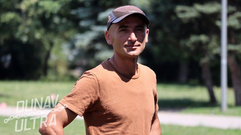 "Ултрамаратонец пробяга 721-километровия маршрут ""Дунав Ултра"""