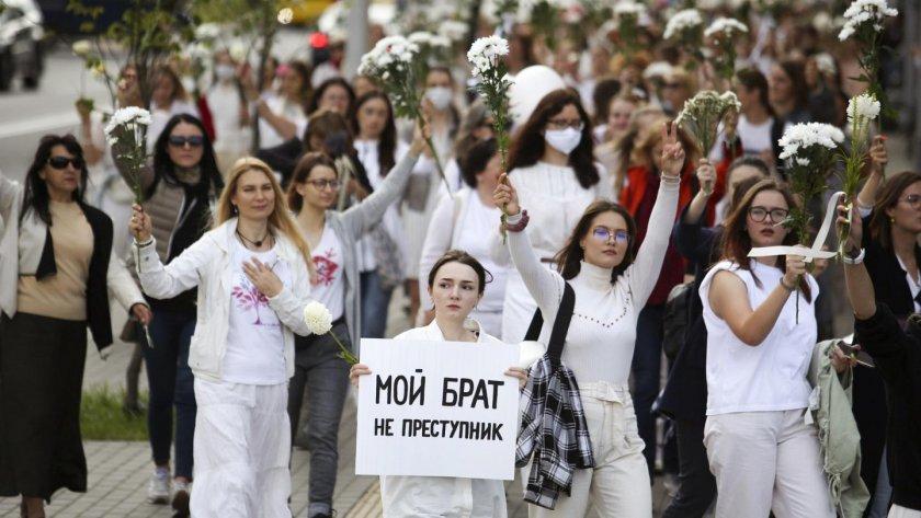 Правителството на Беларус започна да освобождава демонстранти