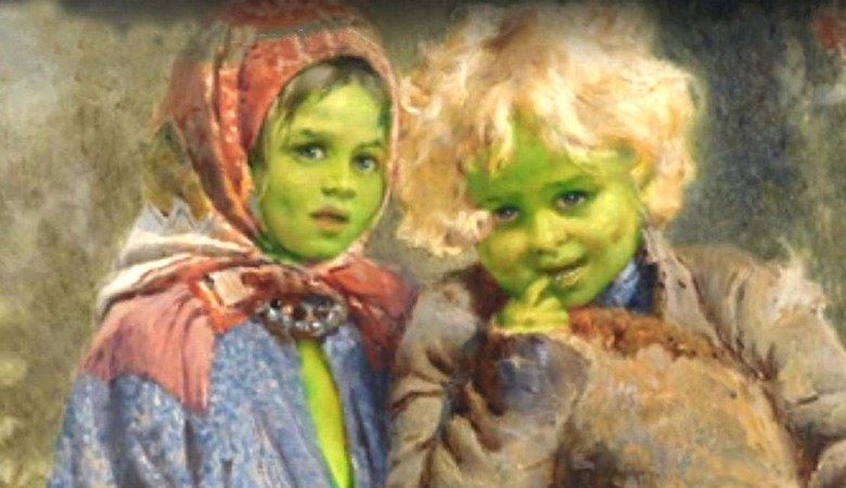 Търсят се потомци на зелени деца