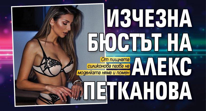 Изчезна бюстът на Алекс Петканова