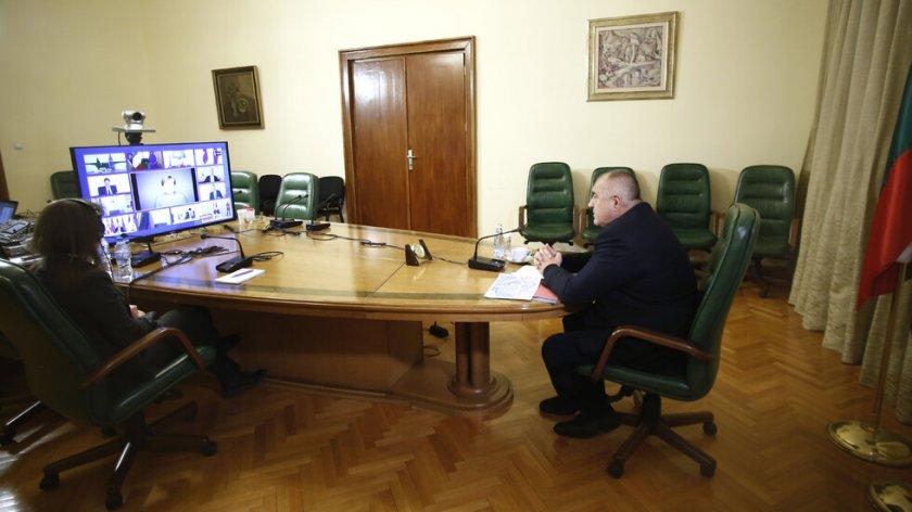 Дневният ред на онлайн заседанието на правителството