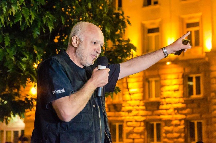 НОВО ЦЕПЕНЕ: Проф. Минеков се оттегля като водач на протестите