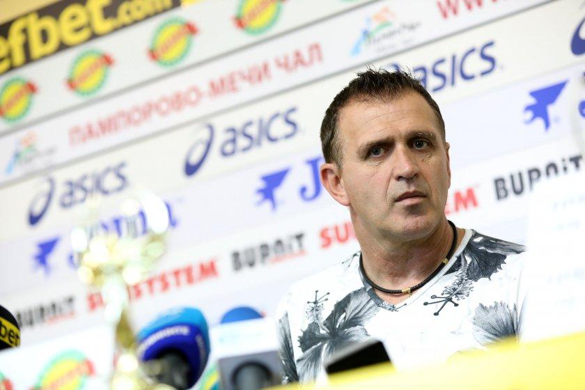 Акрапович: Далеч сме от финансите на ЦСКА и Лудогорец