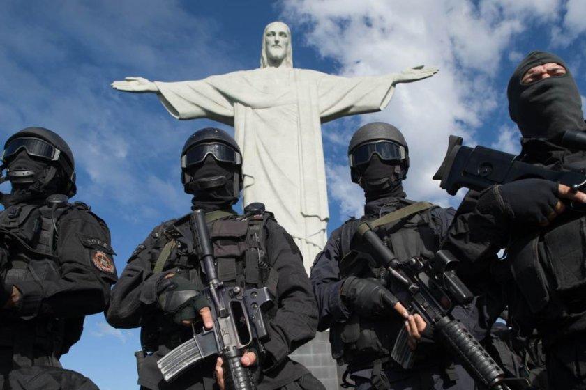 Масови арести на убийци в Бразилия