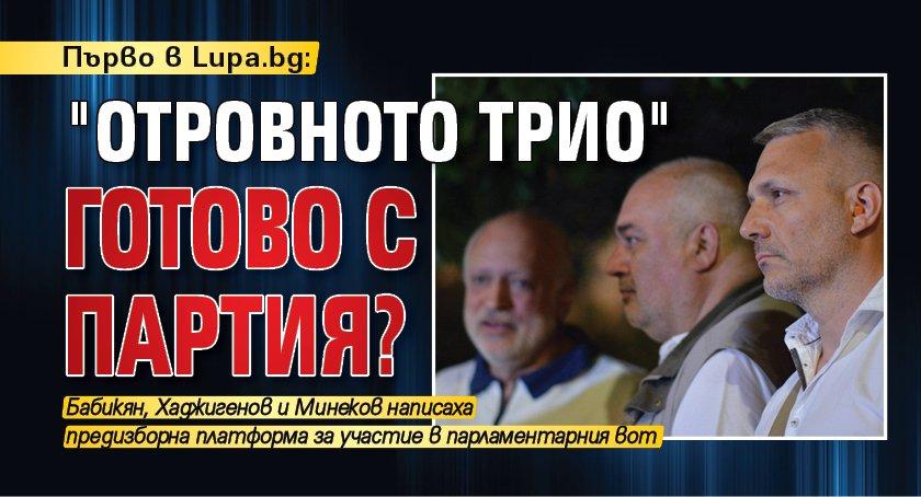 """Първо в Lupa.bg: """"Отровното трио"""" готово с партия?"""