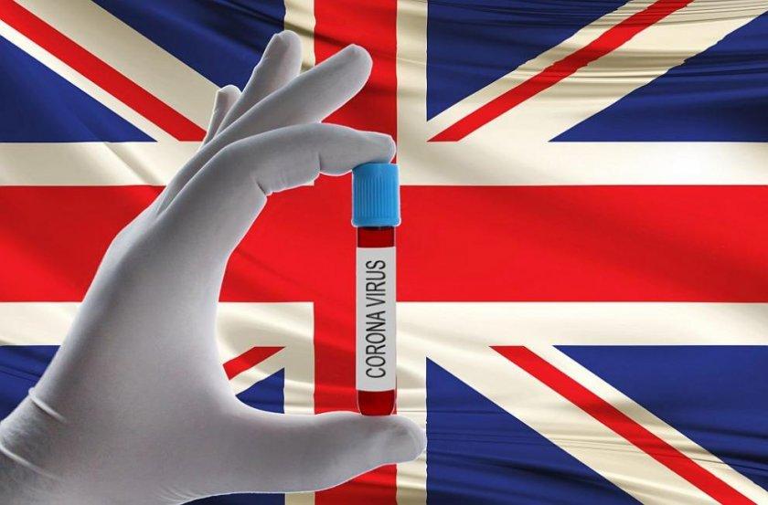 Един на всеки 500 жители на Англия е заразен с коронавирус